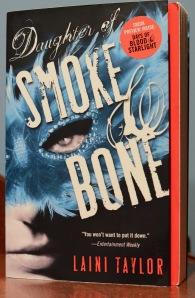 Daughter of Smoke and Bone by Laini Taylor (Photo by Sabrina Scarpino/SAIT Polytechnic)